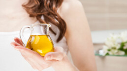 Trattamenti cosmetici con l'olio d'oliva